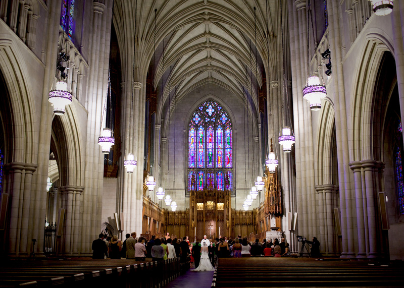 Duke Chapel Weddings Durham NC Wedding Photographer